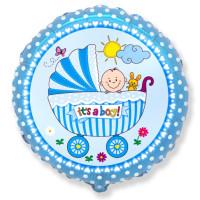 401578 RD Baby Buggy BOY Sim