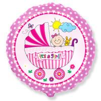 401579 RD Baby Buggy GIRL Sim